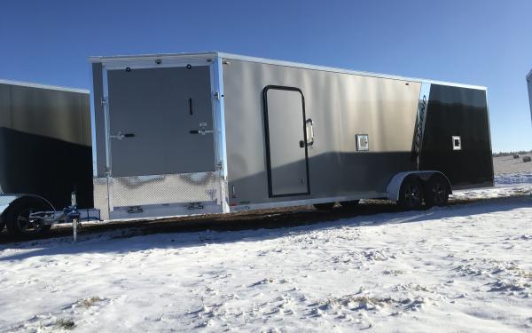 2020 Legend Explorer 7 x 29 Aluminum Snowmobile / ATV Trailer - NEW ULTIMATE JACK