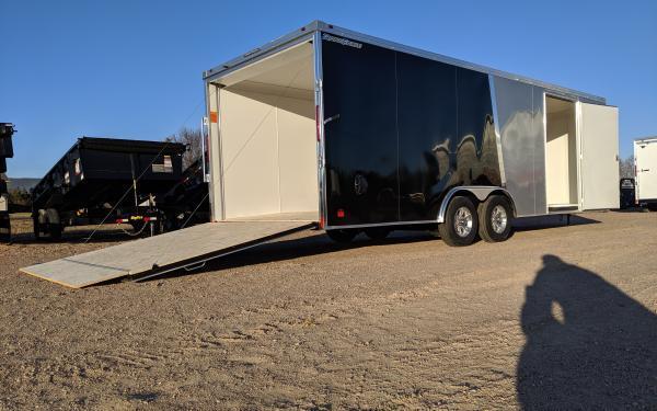 Wells Cargo FT 8.5 x 24 Enclosed Cargo Trailer