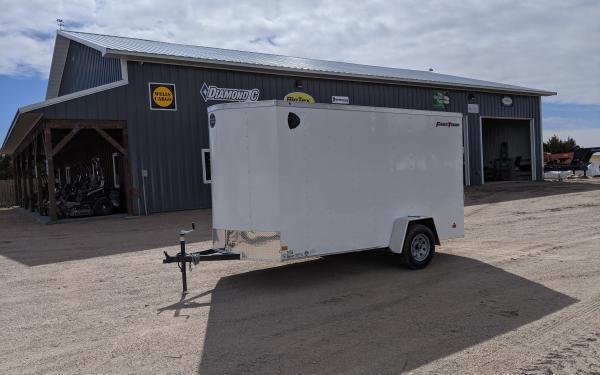 Wells Cargo FT 6 x 12 Enclosed Cargo Trailer
