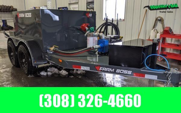 2020 Farm Boss 5 x 10 990 gal. 10K Fuel Trailer (Gas Pump)