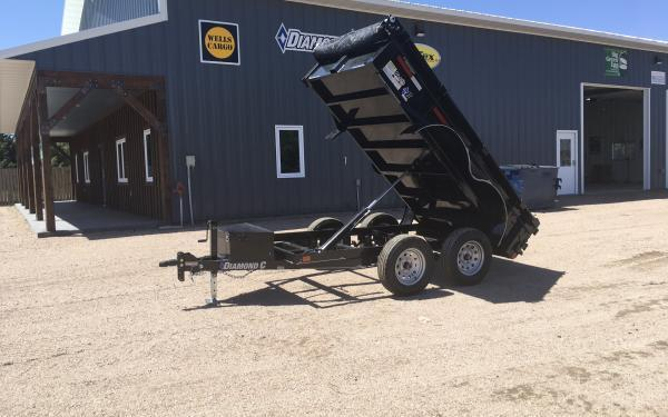 "2020 Diamond C EDG 60"" x 10' Dump Trailer"