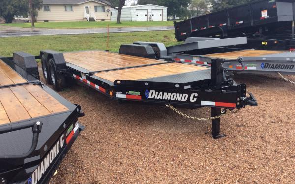 2020 Diamond C HDT 20' Tilt Equipment Trailer