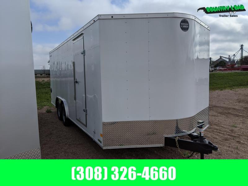 2020 Wells Cargo 8.5x20 Enclosed Cargo Trailer