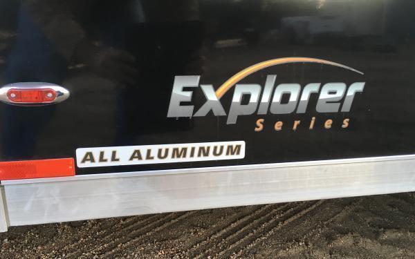 2020 Legend Explorer 7 x 23 Aluminum Snowmobile / ATV Trailer