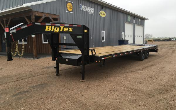 2020 Big Tex 14GN 8.5 x 25+5 Flatbed Trailer