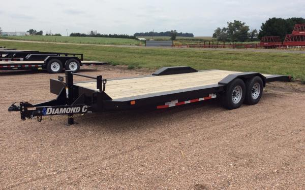 2019 Diamond C EQT 22' Equipment Trailer w/ Frame Extensions