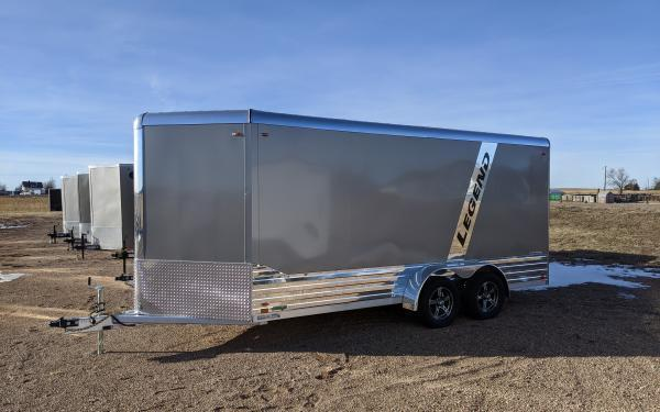 2020 Legend Deluxe 7 x 19 Aluminum V-Nose Enclosed Cargo Trailer