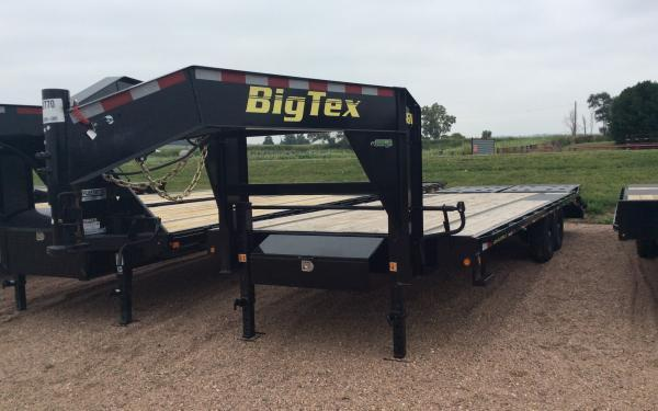 2020 Big Tex 14GN 8.5 x 25 Flatbed Trailer