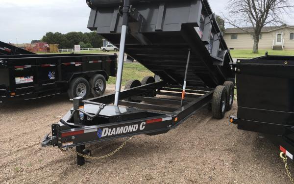 """2020 Diamond C LPT 82"""" x 14' Dump Trailer"""