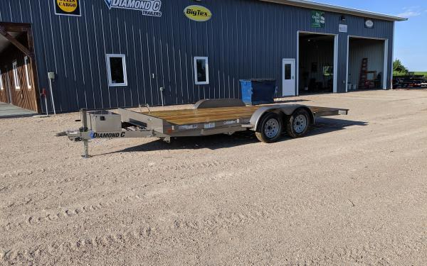 "2019 Diamond C GTF 83"" x 18' Tilt Car / Auto Hauler"