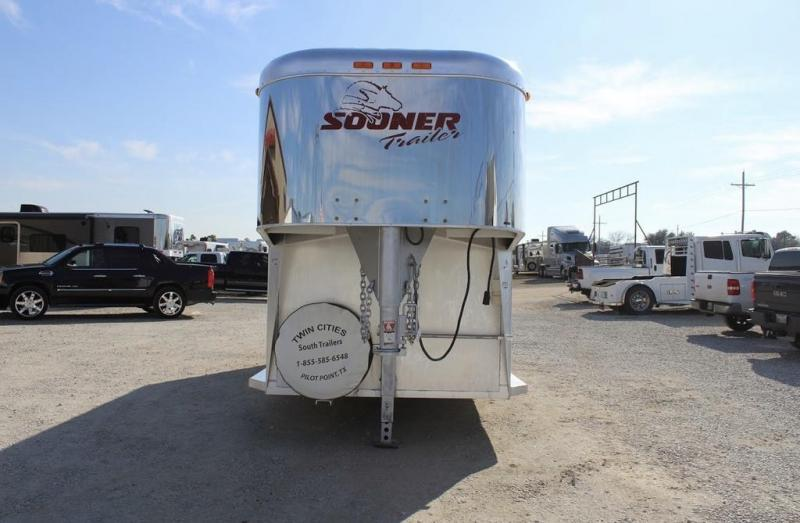 1997 Sooner Revolution Horse Trailer