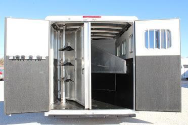 2016 Exiss Trailers dressing room Horse Trailer