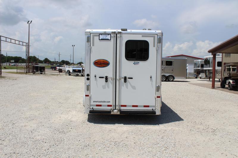 2017 Sundowner 4 horse slant gooseneck