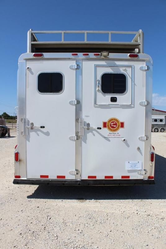 2007 4-Star Trailers Living Quarter Horse Trailer