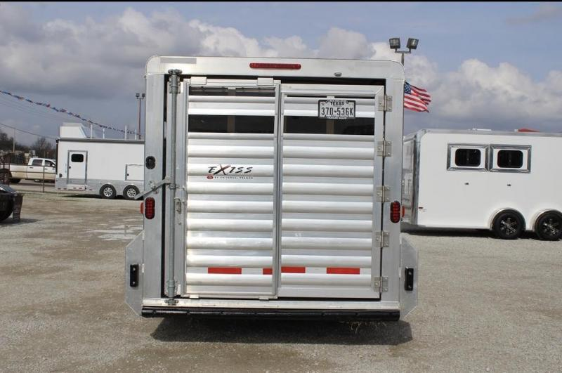 2018 Exiss Trailers stock Livestock Trailer