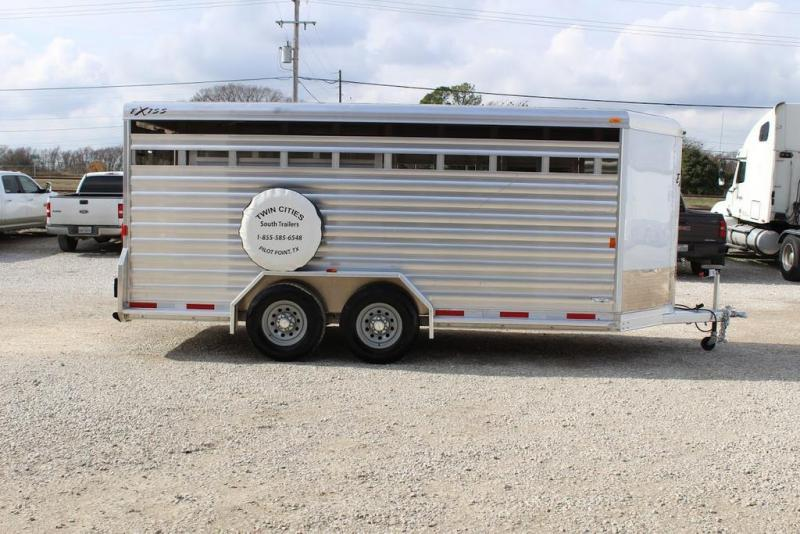 2018 Exiss Trailers stock Livestock Trailer