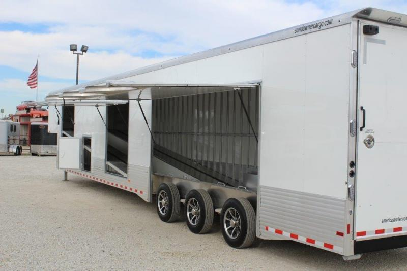 2020 Sundowner 52' enclosed Car Hauler