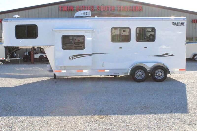 2020 Shadow Trailers Living Quarter Horse Trailer