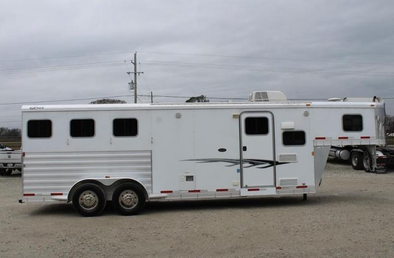 "2014 Exiss Trailers 8'6"" Living Quarter Horse Trailer"