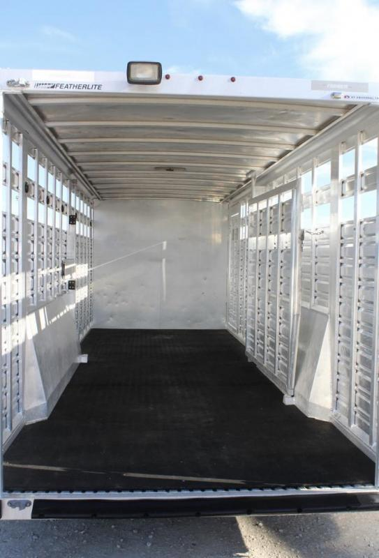 2013 Featherlite Stock Combo Livestock Trailer