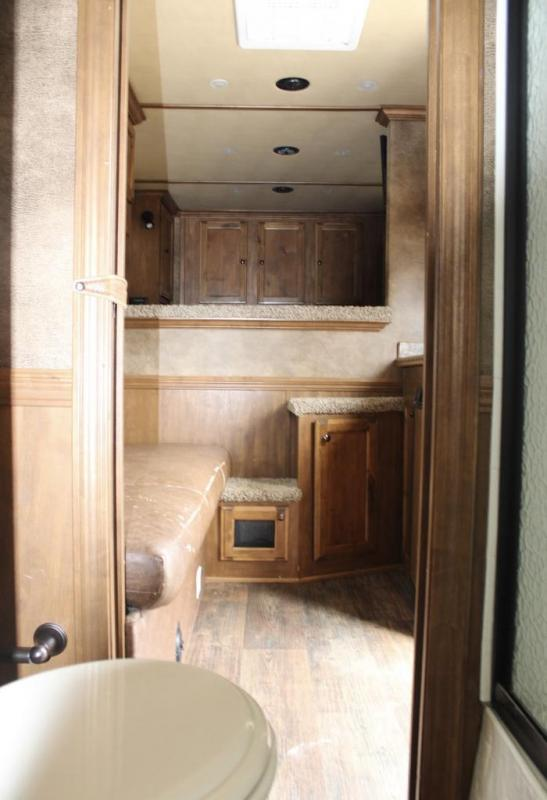 2015 Hawk Trailers Living Quarter Horse Trailer
