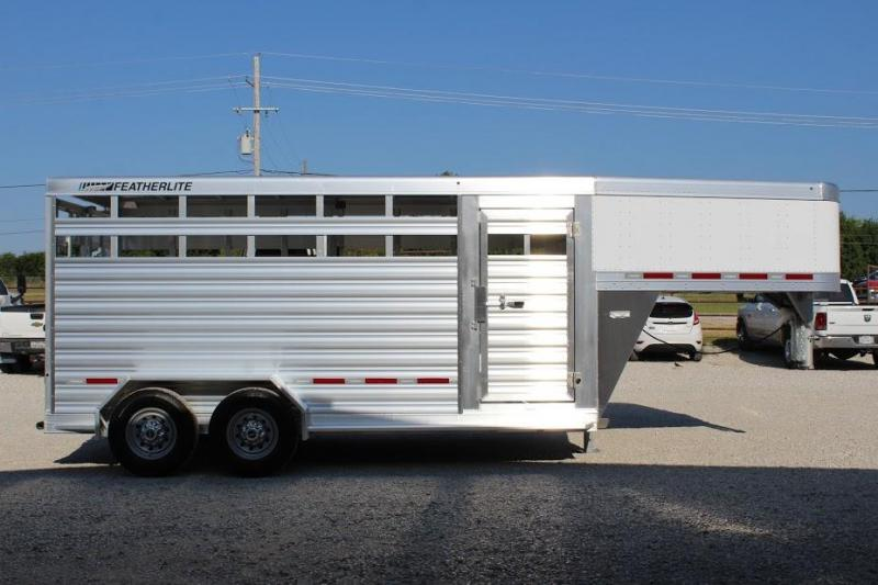 2020 Featherlite 16' Stock Trailer