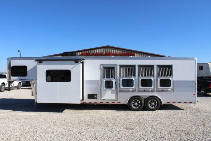 "2018 Sundowner 4 horse with 11'6"" Living Quarter"