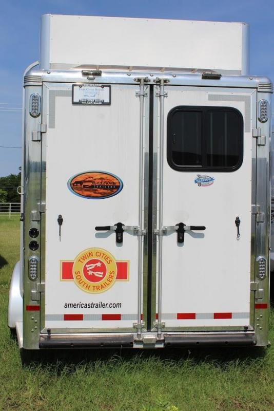 2018 Sundowner Trailers Rancher Horse Trailer
