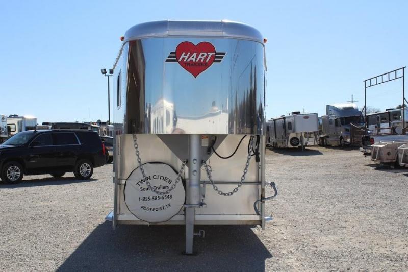 2012 Hart 3 horse slant gooseneck