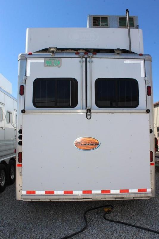 2007 Sundowner Trailers 8026 Horse Trailer