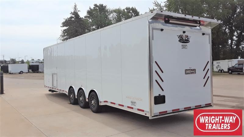 2019 Vintage Trailers 34' ENCLOSED Car / Racing Trailer