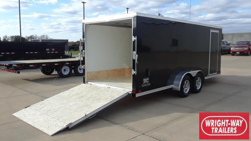 ATC RAVEN 7X18 Aluminum Snowmobile Trailer