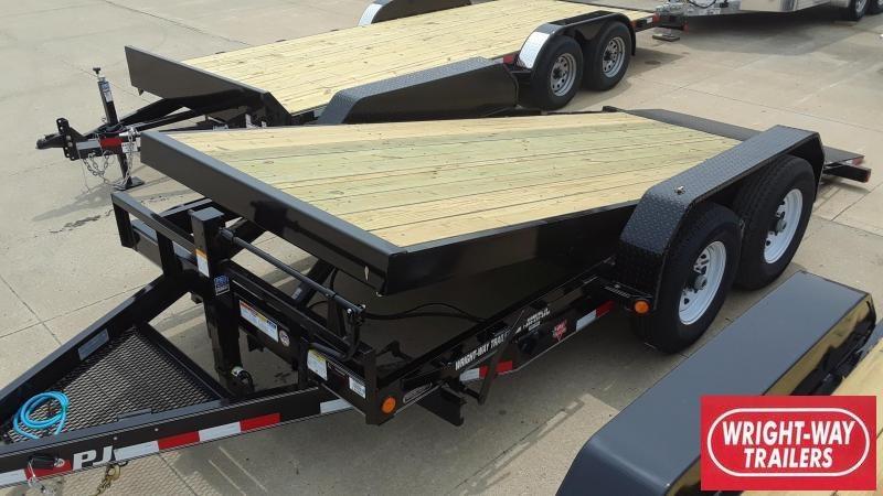 2020 PJ 16' Equipment Tilt Trailer