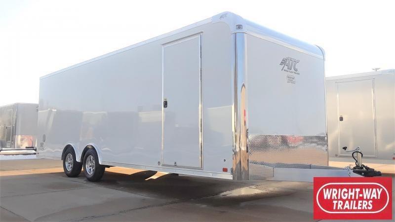 ATC RAVEN 24' Aluminum Car / Racing Trailer