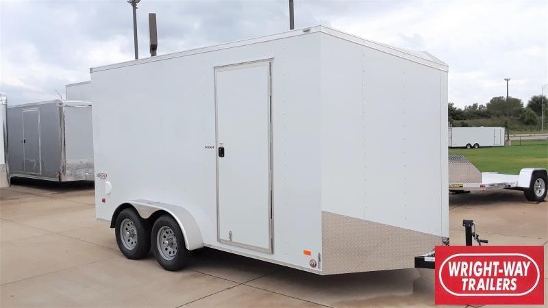 2020 Bravo Trailers 7X14 CARGO SCOUT Enclosed Cargo Trailer