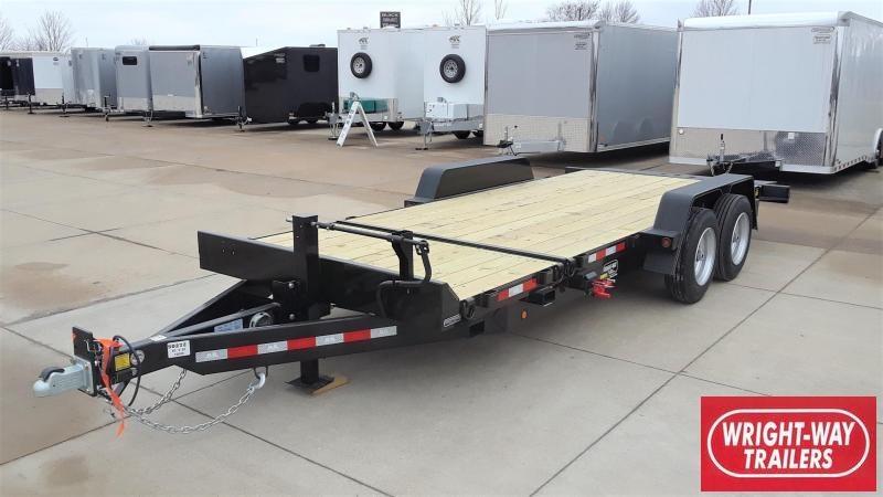 B-B 20' Tilt Equipment Trailer