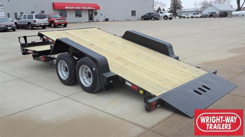 B-B 20' Tilt Equipment Trailer
