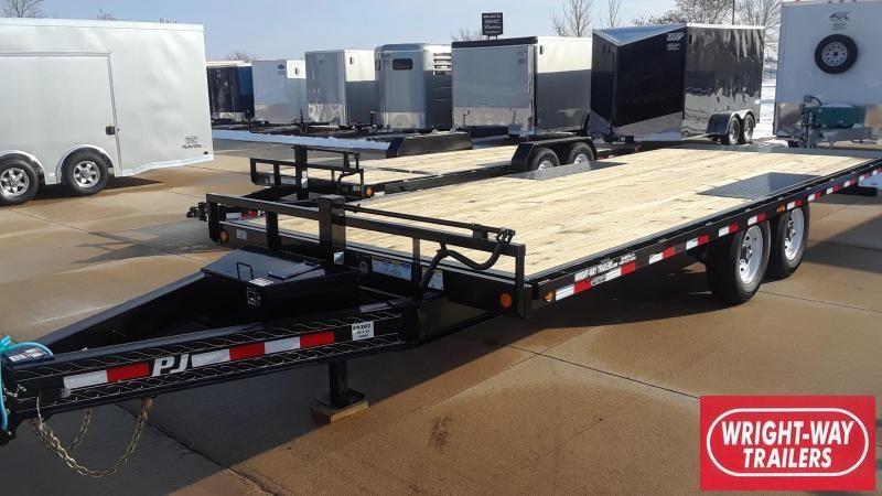 PJ Trailers 22' Deckover Tilt Equipment Trailer