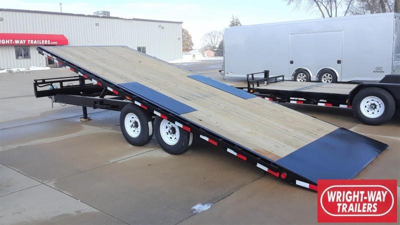 PJ Trailers 22' Deckover Tilt Equipment Trailer