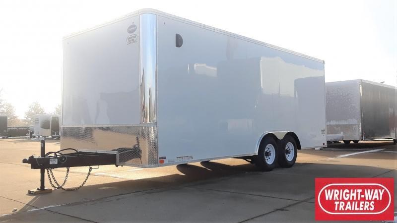 United Trailers 8.5X20 Car / Racing Trailer
