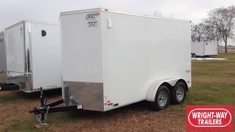 Bravo 6X12 Enclosed Cargo Trailer