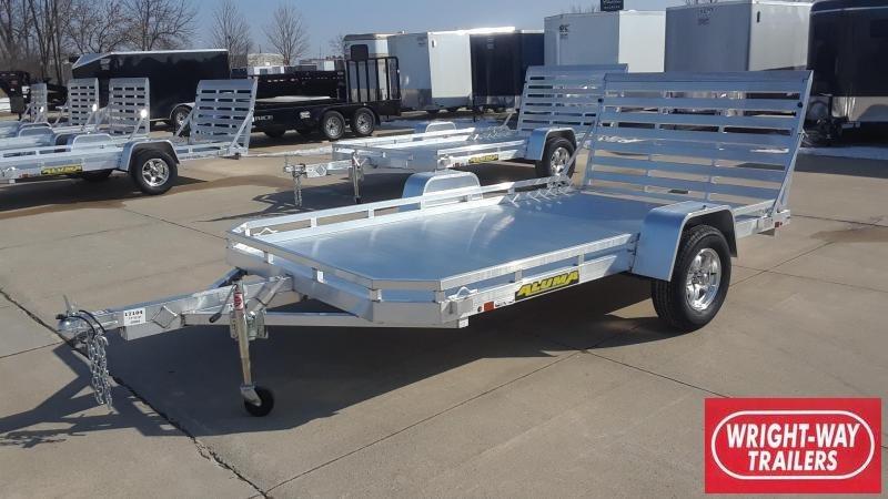 Aluma 7712H 12' Aluminum Utility Trailer