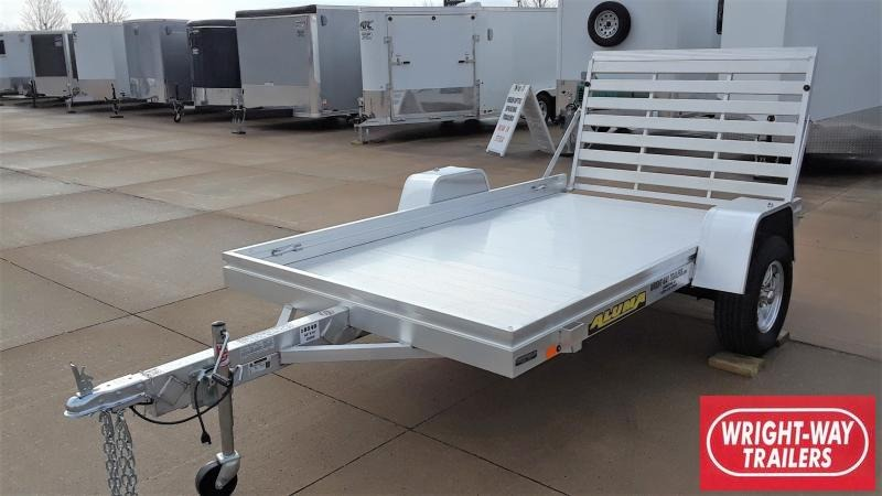 2021 Aluma 6810H Utility Trailer