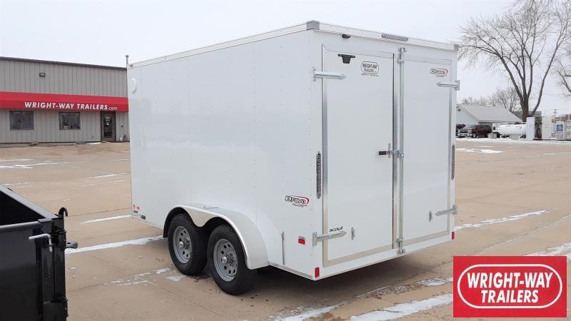 "2020 Bravo Trailers 7x12+30""VSCOUT CARGO Enclosed Cargo Trailer"