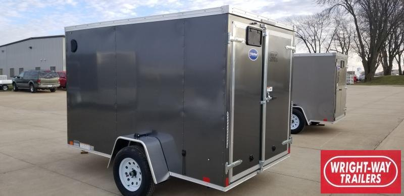 2020 United Trailers 6 x 10'  V NOSE CARGO Enclosed Cargo Trailer