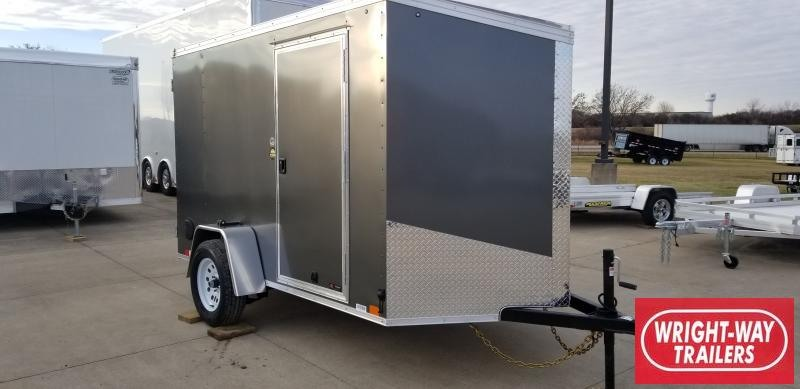 2020 United Trailers 6 x 10'  V NOSE CARGO Enclosed Cargo Trailer
