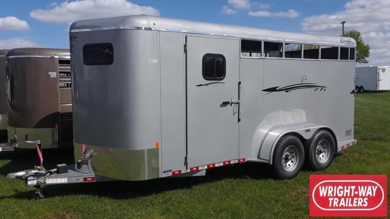 Delta 3 Horse Slant Trailer