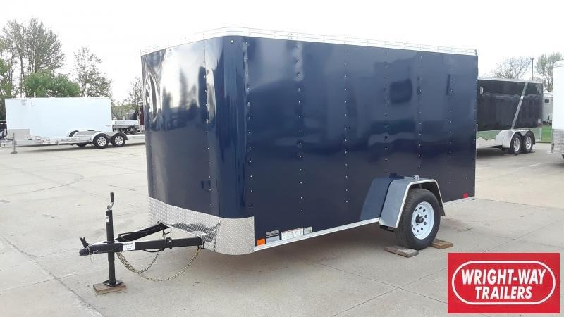 2020 United 6X12 Enclosed Cargo Trailer