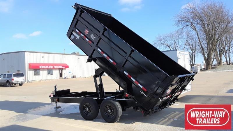 PJ Trailers 14' Dump Trailer High Side
