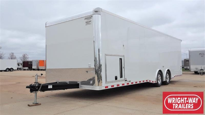 2020 Bravo 8.5X28 Car / Racing Trailer